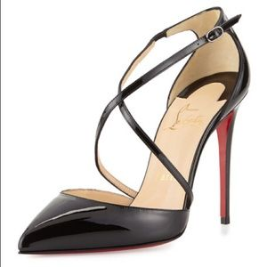 CHRISTIAN LOUBOUTIN Cross Blake 100